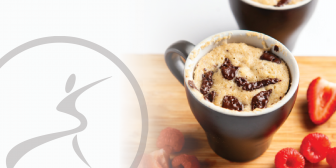Chocolate Chip Protein Mug Cake