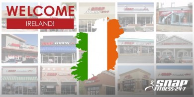 SNAP FITNESS CONTINUES GLOBAL GROWTH WITH EXPANSION INTO IRELAND
