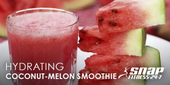 Hydrating Coconut-Melon Smoothie