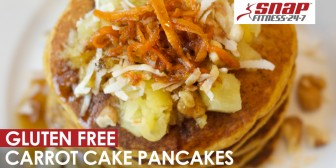 Gluten and Dairy Free Carrot Cake Pancakes