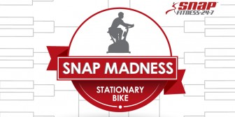 Final #SnapMadness Challenge: 90 Minutes on the Stationary Bike