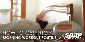 How to Get Into a Morning Workout Routine