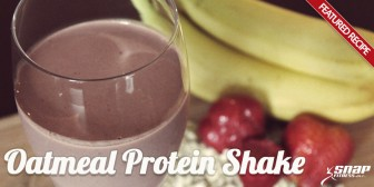 Featured Recipe: Oatmeal Protein Shake