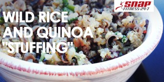 "Featured Recipe: Gluten-Free Wild Rice Quinoa ""Stuffing"""