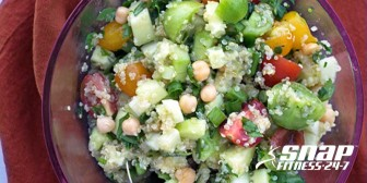 Gluten-Free Tabbouleh with Chickpeas