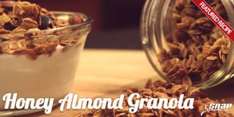 Honey Almond Homemade Granola