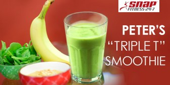 "Peter's ""Triple T"" Smoothie"