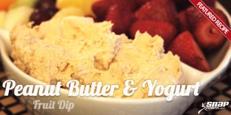 Featured Recipe: Peanut Butter & Yogurt Fruit Dip