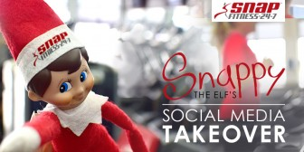 Snappy the Elf's Social Media Takeover Sweepstakes!