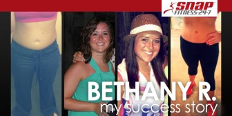 My Snap Fitness Success Story: Bethany R. gets her college body back