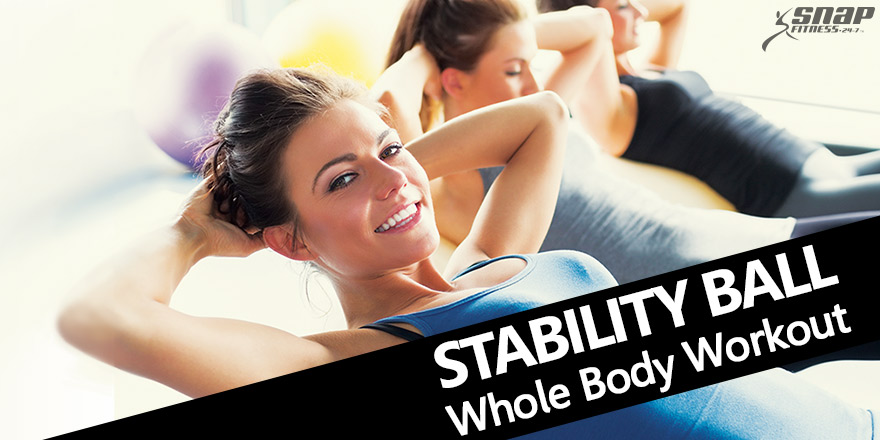 Stability Ball Whole Body Workout