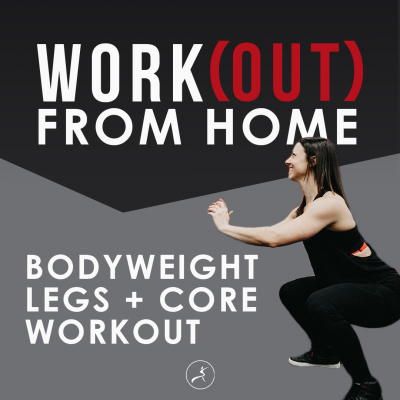 Social Post  Legs + Core Workout