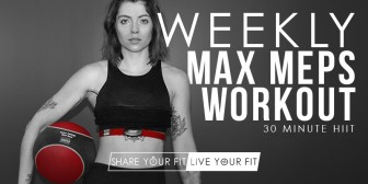 HIIT | Weekly Max Meps Workout
