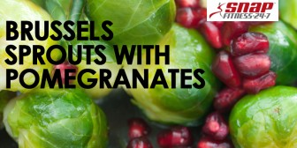 Brussels Sprouts With Pomegranates