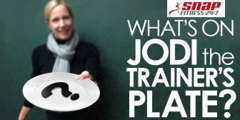 What's On Jodi-the Trainer's Plate?
