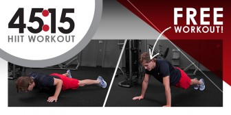 What's Your Fit Workout | HIIT Training : 45|15
