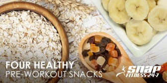 Four Healthy Pre-Workout Snacks