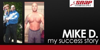 My Snap Fitness Success Story: Mike D.'s Three Year Weight Loss Journey