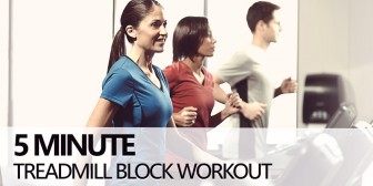 5 Minute Treadmill Blocks Workout