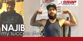 My Snap Success Story: Najib C. Overcomes Injuries and Loses 100 Pounds