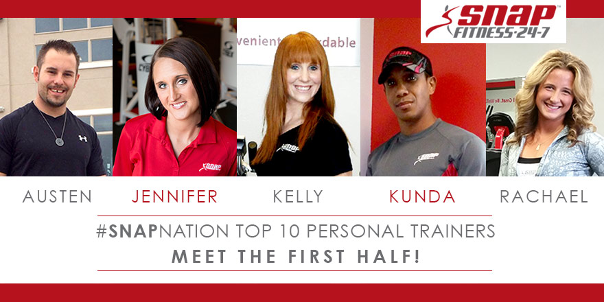 Top Ten #SnapNation Personal Trainers – Part One
