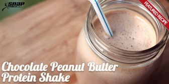 Featured Recipe: Chocolate Peanut Butter Protein Shake