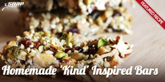 "Featured Recipe: Homemade ""Kind"" Inspired Bars"