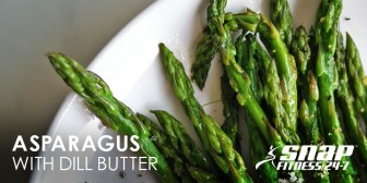 Asparagus with Dill Butter Recipe