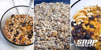 Toasted Muesli with Cashews, Coconut and Cherries