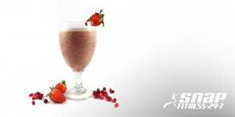 Oh-So-Sweet Strawberry & Pomegranate Smoothie