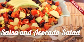 Featured Recipe: Salsa and Avocado Salad