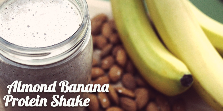 Featured Recipe: Almond Banana Protein Shake