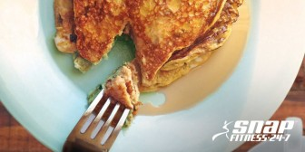 3-Ingredient Protein Banana Pancakes