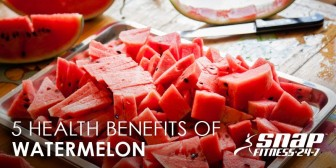 5 Health Benefits of Watermelon