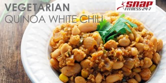 Vegetarian Quinoa White Chili