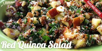 Featured Recipe: Red Quinoa Salad