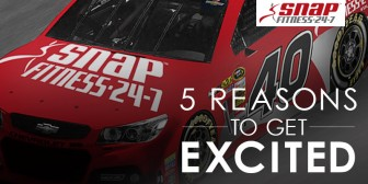 5 Reasons You Should Get Excited About #SnapNation Joining NASCAR.