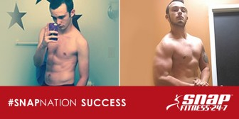Success Spotlight: Zack, Member of Snap Fitness Kingsport, TN