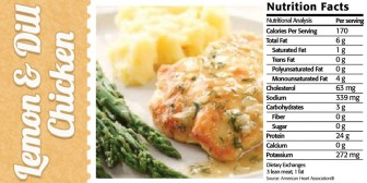 Featured Recipe: Lemon & Dill Chicken