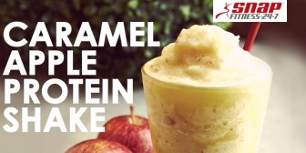 Featured Recipe: Caramel Apple Protein Shake