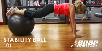Stability Ball 101 Workout