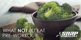 What Not to Eat Pre-Workout