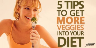 5 Tips To Get More Veggies Into Your Diet