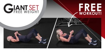 What's Your Fit Workout | Free Weight Training : Giant Set