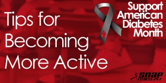American Diabetes Month - Tips for Becoming More Active