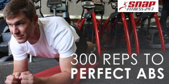 300 Reps to Perfect Abs
