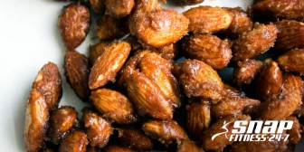 Stovetop Pumpkin Spice Candied Almonds