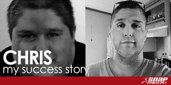My Snap Success Story: Chris L. Find New Life at 39