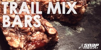 Featured Recipe: Chewy Trail Mix Bars
