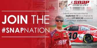 Share Your Success with #SnapNation & Win a VIP NASCAR Weekend!